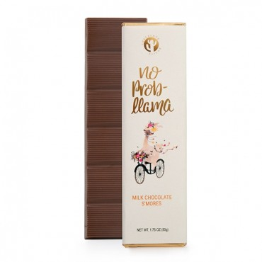 No Prob Lama Milk Chocolate S'mores Flavored 1.75oz. Bar