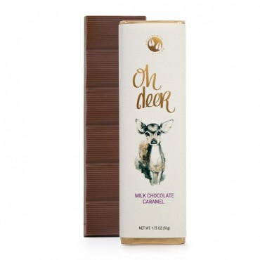 Oh Deer Milk Chocolate Caramel Flavored 1.75oz. Bar