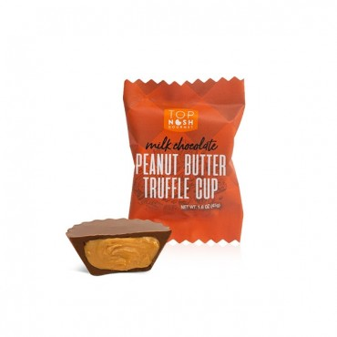 Milk Chocolate Peanut Butter Truffle - in POP Tub