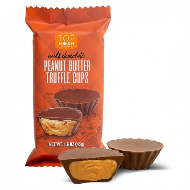 Milk Chocolate Peanut Butter Truffle Cups - 2pk