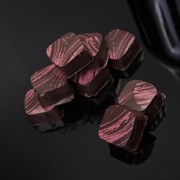 Raspberry Pomegranate Truffle