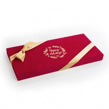 Red Portfolio Truffle Gift Box