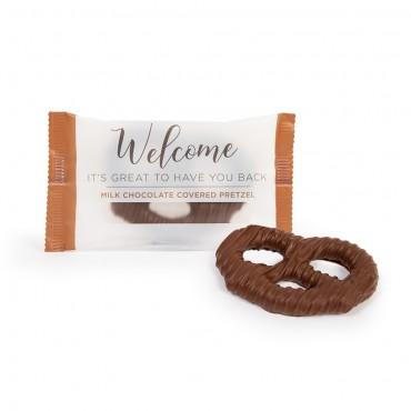 Welcome Milk Chocolate Pretzel Twist