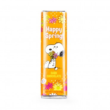 Peanuts 1.75 oz Happy Spring Snoopy Dark Chocolate Bar