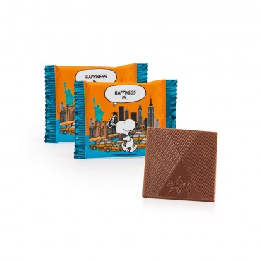 Peanuts by Astor Deluxe Milk Chocolate Thins