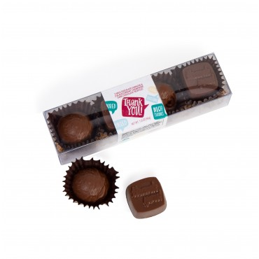 "Appreciation - ""Thank You"" Truffle Gift Pack (4pc)"