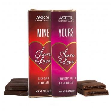 Share The Love - Belgian Chocolate Bars
